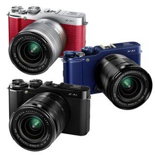 X-A1 er tilgjengelig i tre farger.