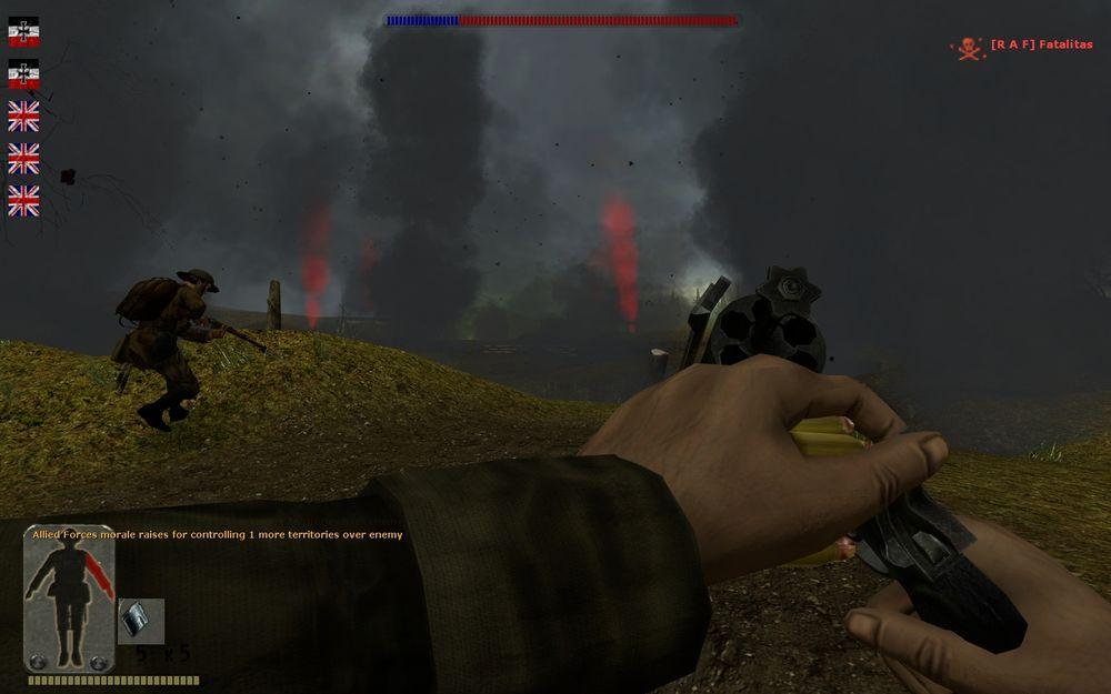 En av moddene til Half-Life 2 forsøkte å gjenskape første verdenskrig. Den gikk under navnet WW1 Source.