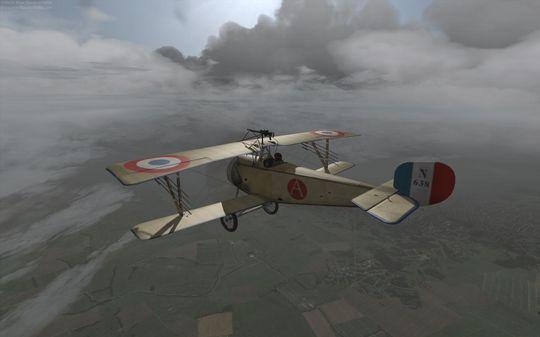 Wings Over Flanders Field har en svært engasjerende kampanje.