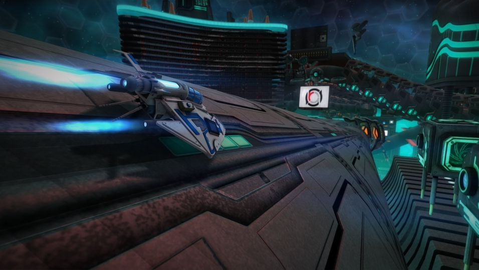 Futuristisk racing for Oculus Rift