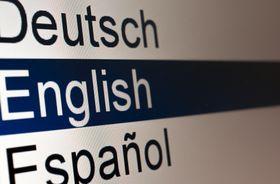 Hold deg til engelsk –eller risiker å bli overvåket.