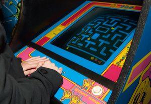 Pac-Man er selvsagt på plass.
