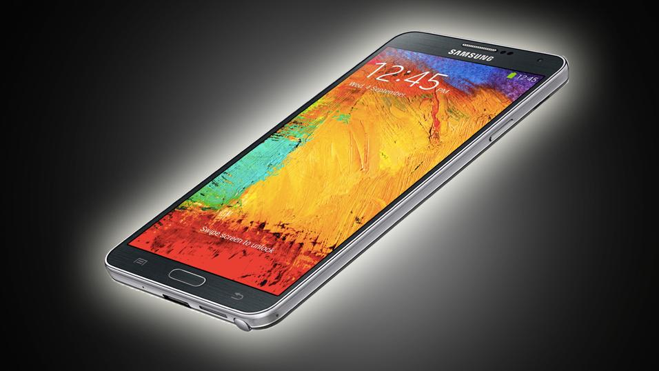 Illustrasjonsbilde. Dette bildet viser Samsung Galaxy Note 3.