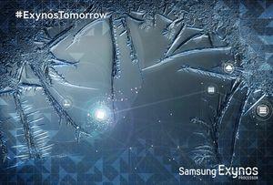 Samsung hintet om en kjølig nyhet.