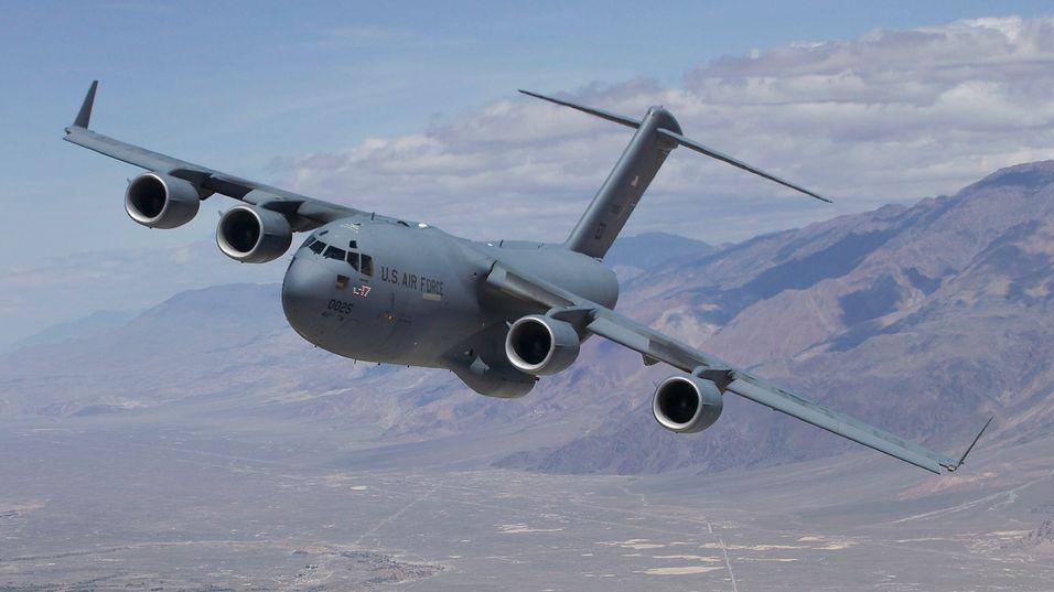 Det militære transportflyet C-17 er noe av det kineserne var interessert i.
