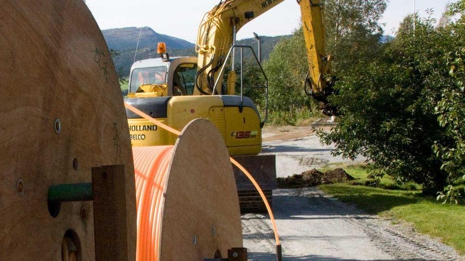 Norge er det landet i Europa der flest velger å koble seg til fiber hvis de har muligheten.