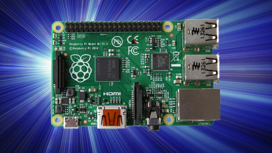 Raspberry Pi har nådd stor milepæl. Dette er Model B+.