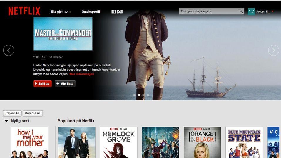 Nettleser-utvidelse utvider Netflix...