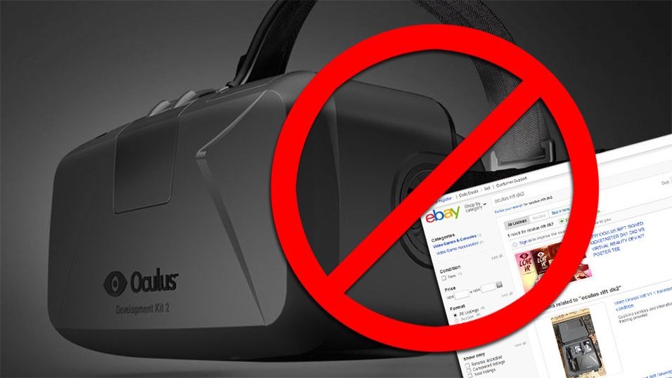 Ikke prøv å kjøpe nye Oculus Rift på eBay
