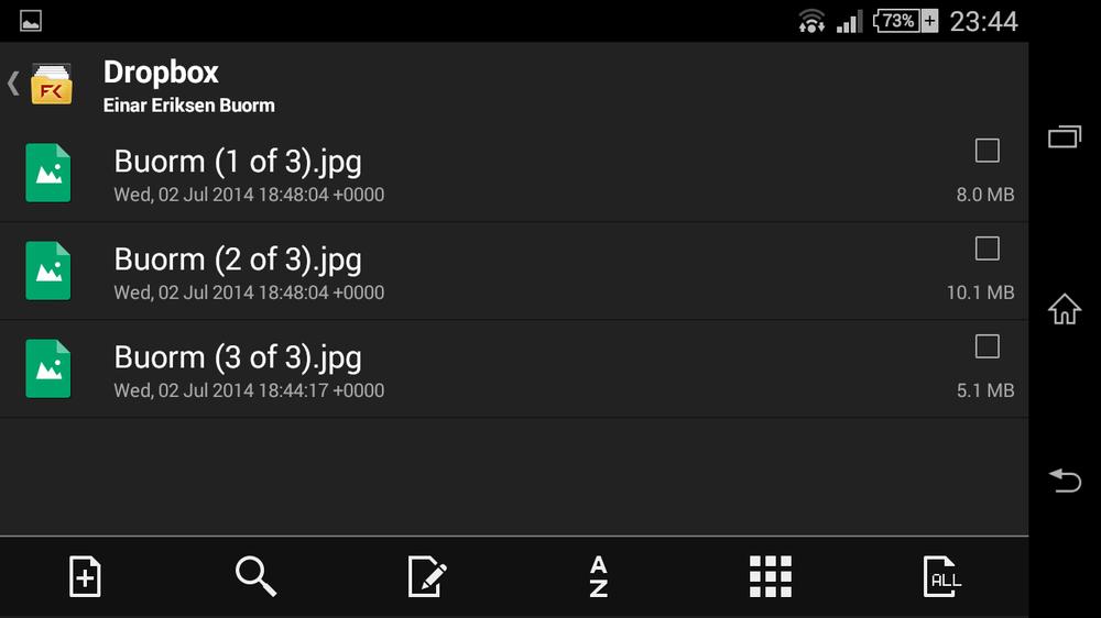 Mange filbehandlere kan gi direkte tilgang til Dropbox-filene dine.