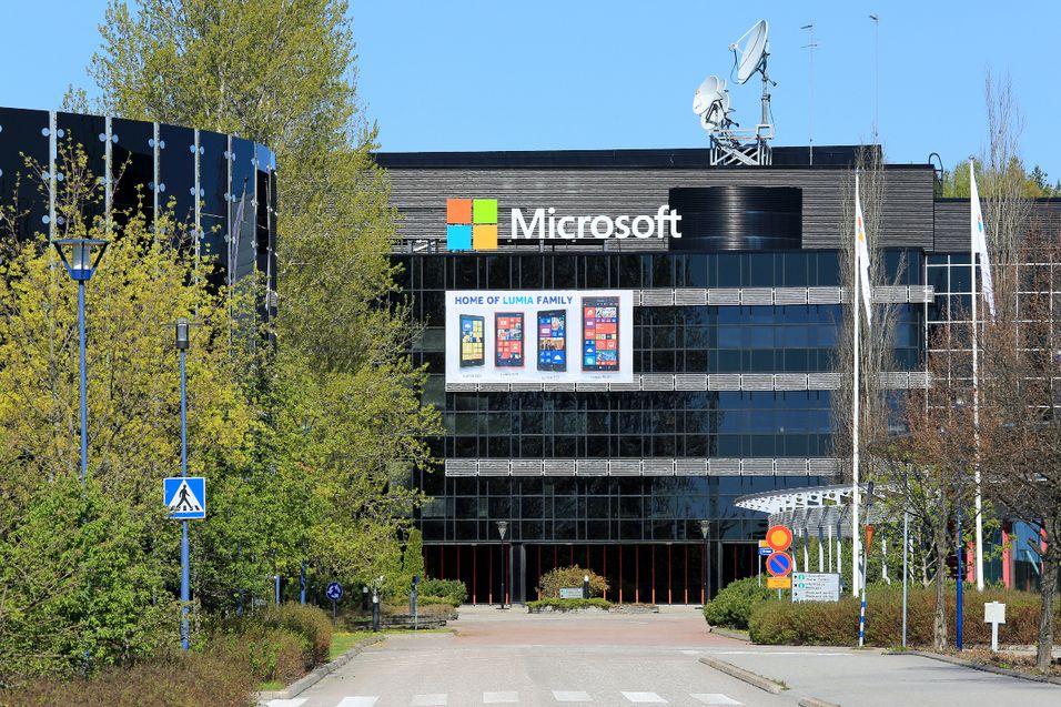 Tidligere Nokia-bygning i Salo, Finland.