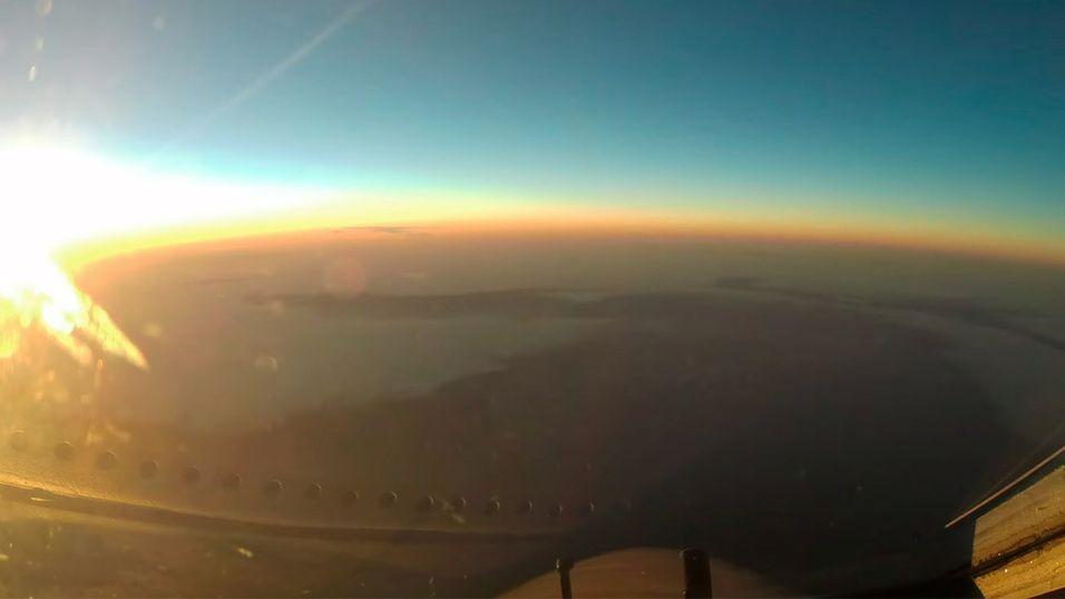 Fly fra Japan til USA på 83 sekunder