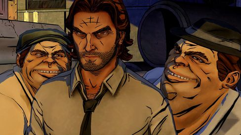 The Wolf Among Us.