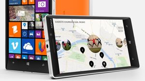 Microsoft Nokia Lumia 930 kjører Windows Phone 8.1.