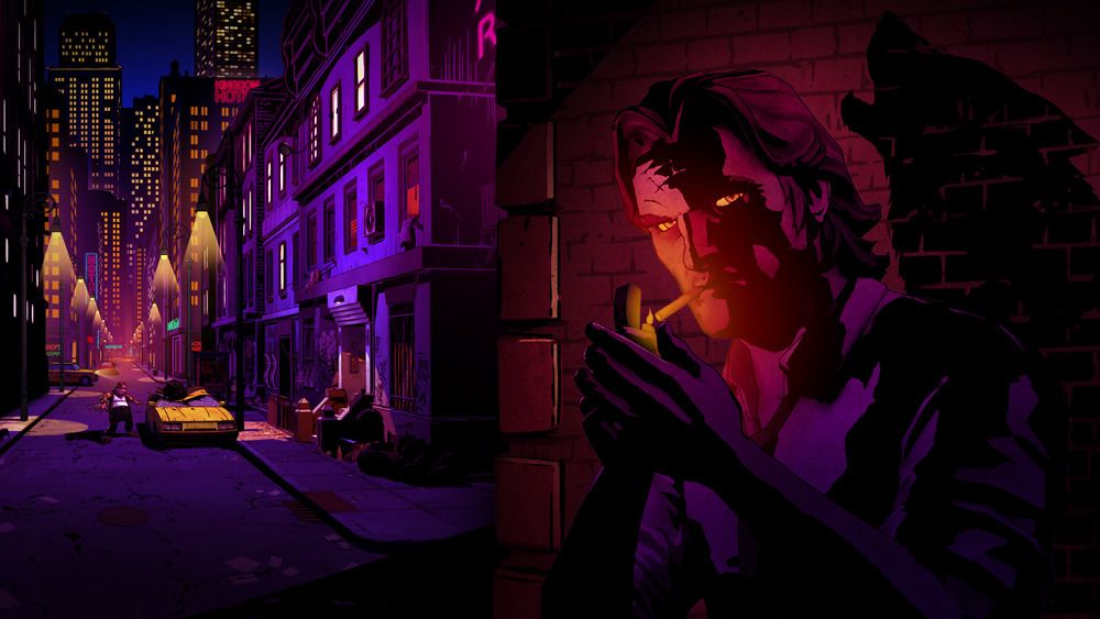 Episodespillet The Wolf Among Us engasjerer.