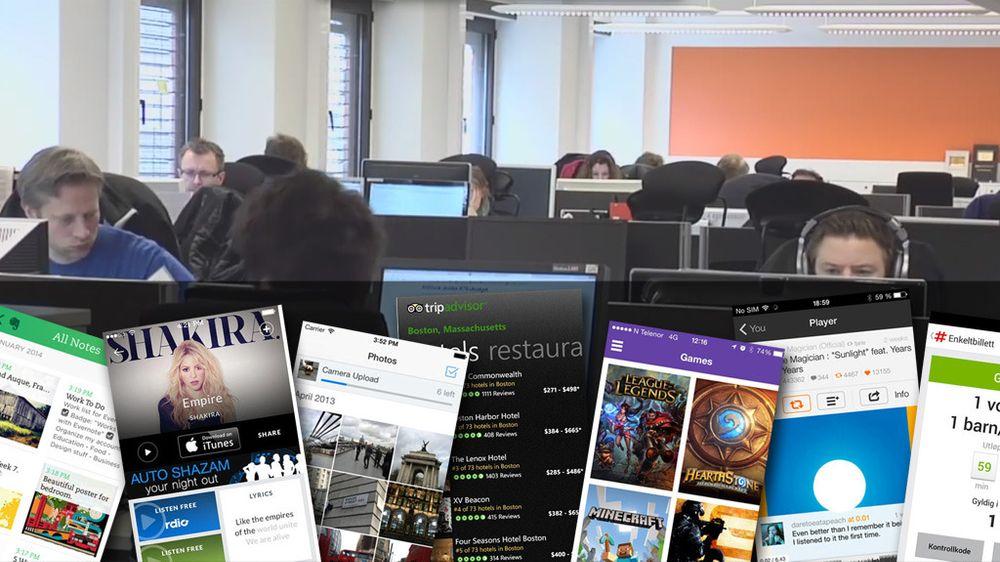 Redaksjonen i Mediehuset Tek består av 18 journalister, i tillegg til frilansere, en stor utviklingsavdeling, en salgsavdeling og administrasjon. I denne artikkelen har redaksjonen plukket sine app-favoritter.