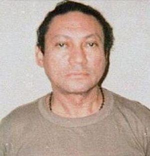 «Mugshot» av Manuel Noriega fra 1990.