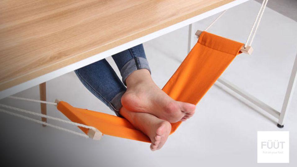Hvil føttene dine i en hengekøye