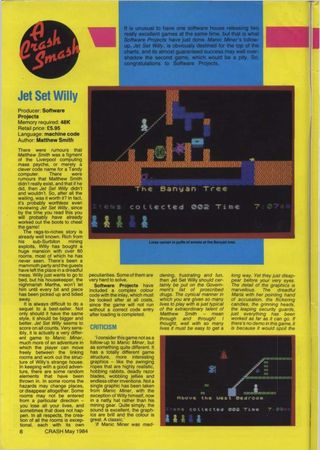 Spillanmeldelser på 80-tallet hadde ofte mye tekst. Skjermbilder måtte tas manuelt med kamera på stativ foran en TV-skjerm.
