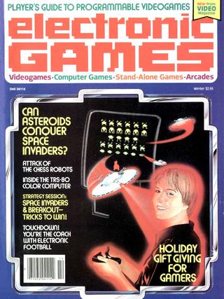 Electronic Games var et av de aller første spillbladene i USA.