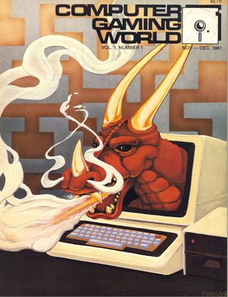 Et av de eldste PC-spill-bladene i verden er Computer Gaming World.