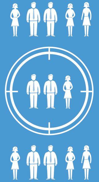 Remarketing hadler om å treffe de riktige personene (Bilde: Shutterstock).