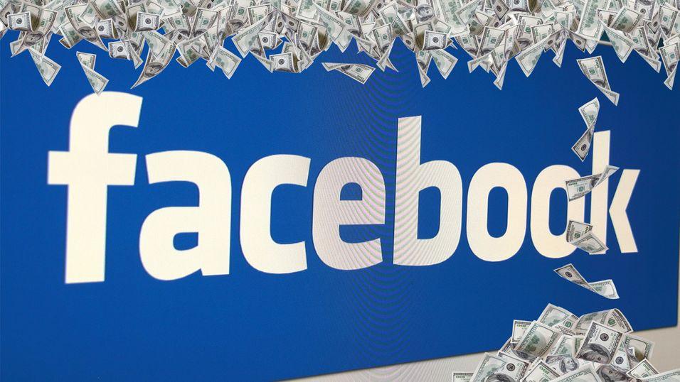 Så mye tjente Facebook på deg