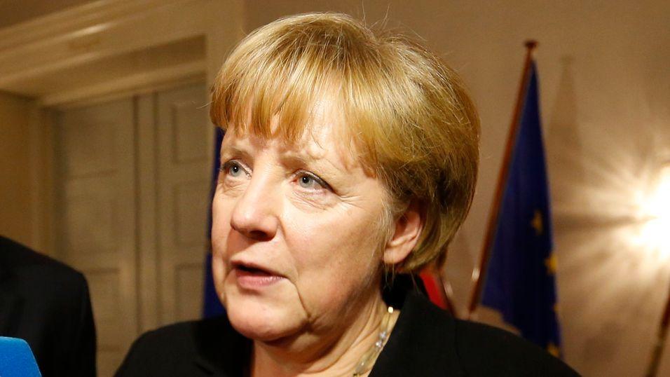 Tysklands forbundskansler, Angela Merkel, under et besøk i Oslo tidligere i år.