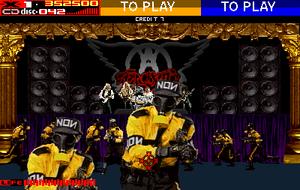 Aerosmith ble brukt til å promotere Revolution X.