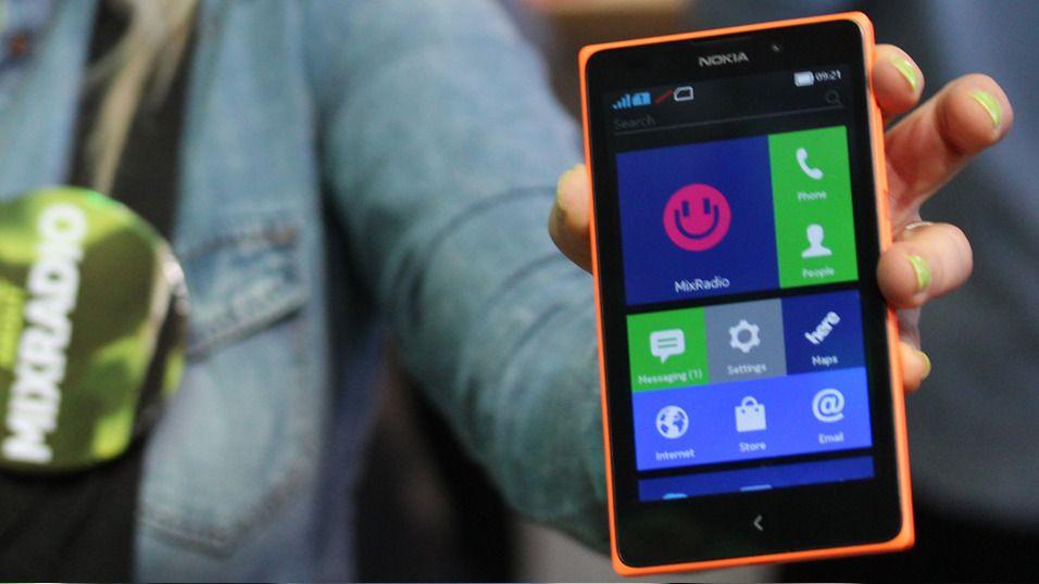 – Gi opp Windows Phone, velg Android isteden
