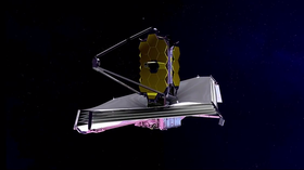 Det kommende teleskopet James Webb Space Telescope.