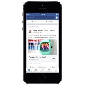 Facebook sin «Kjøp»-knapp er for øyeblikket i en testfase.