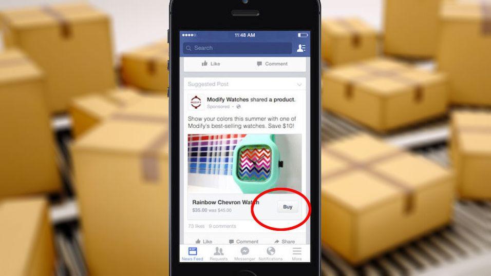 Facebook blir en nettbutikk