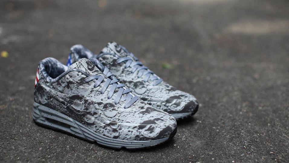 Skoene som ser ut som de har gått på månen
