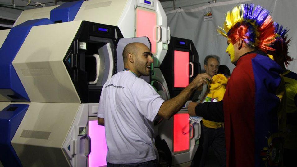 Genial maskin skal løse flyplass-sikkerheten