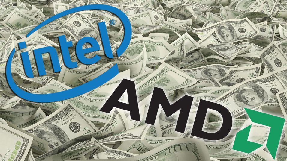 Både Intel og AMD tjener mer penger enn før