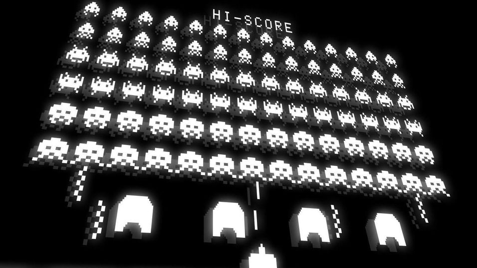 Space Invaders blir til film.