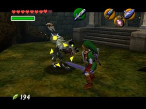 The Legend of Zelda: Ocarina of Time  er et populært spill å speedrunne.