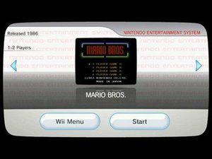 Virtual Console lar deg blant annet spille Nintendo-spill.