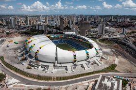 Arena das Dunas i Natal som leilighetskompleks.