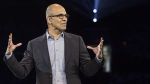 Satya Nadella - direktør i Microsoft.
