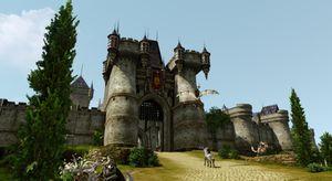 Bygg dine egne slott i ArcheAge.