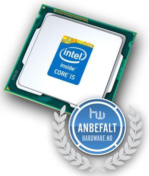 Anbefales: Intel Core i5 4690. Foto: Intel.