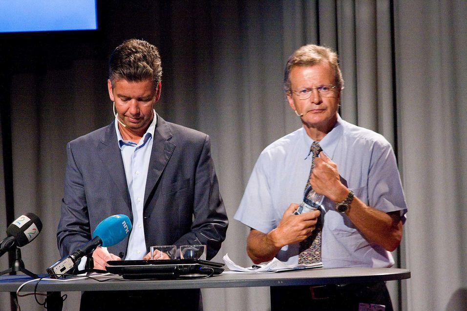 Telenors finansdirektør, Richard Olav Aa, er en av de fire som nå fristilles midlertidig fra sine verv i Telenor.