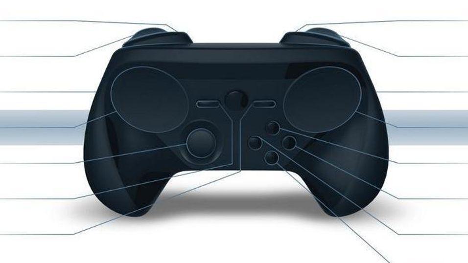 Slik ser Steam-kontrolleren etter alt å dømme ut nå.
