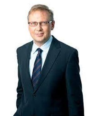 Kommunikasjonsdirektør Geir Remman i Evry.