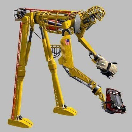 Robotens ben vil være ubevegelige.