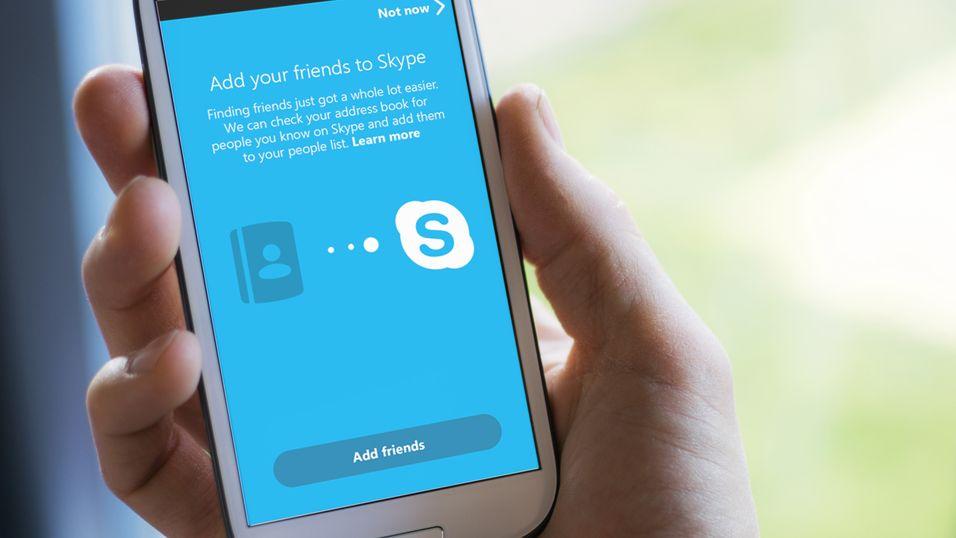 Skype 5.0 for Android vil snart kunne finne vennene dine via adresseboken på telefonen.