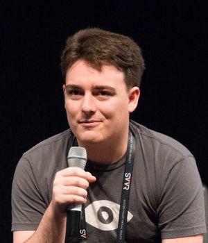 Palmer Luckey, grunnlegger av Oculus. .