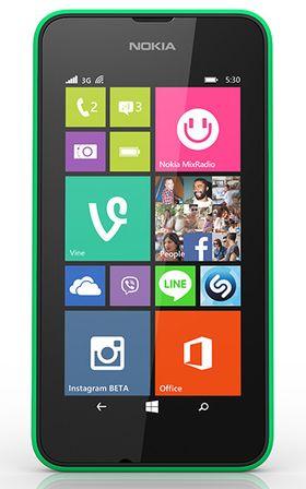 Lumia 530 er ifølge Microsoft den billigste Lumia-telefonen noensinne. Den kunne måttet konkurrere mot Nokia X-modeller til omtrent samme pris.